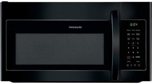 Frigidaire FFMV1846VD Black Over-The-Range Microwave