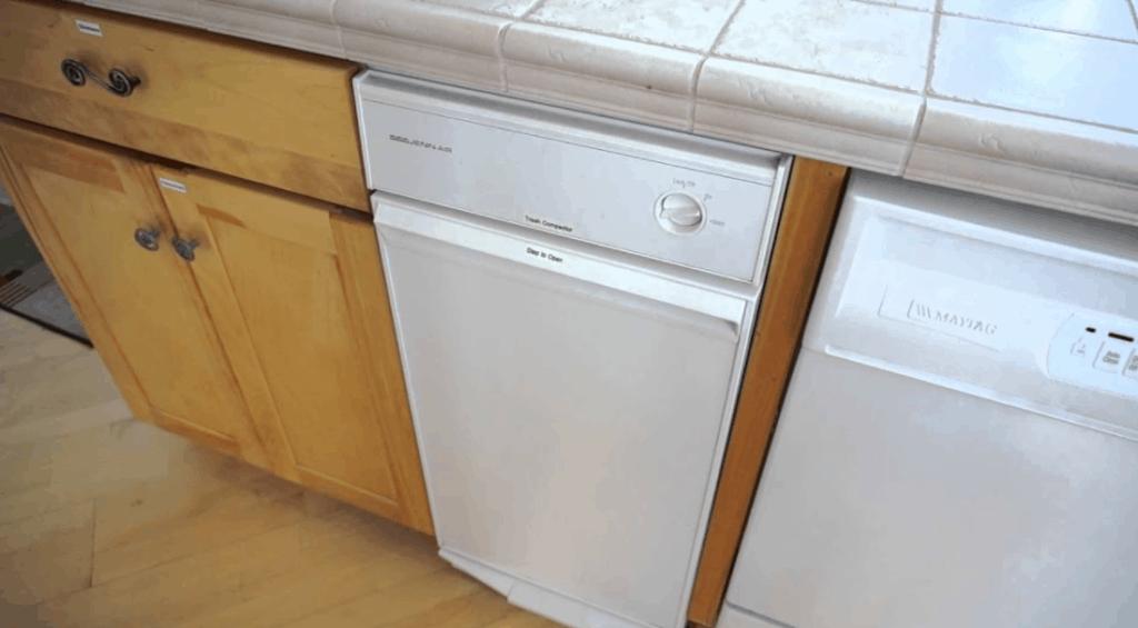 Under Counter Trash Compactor