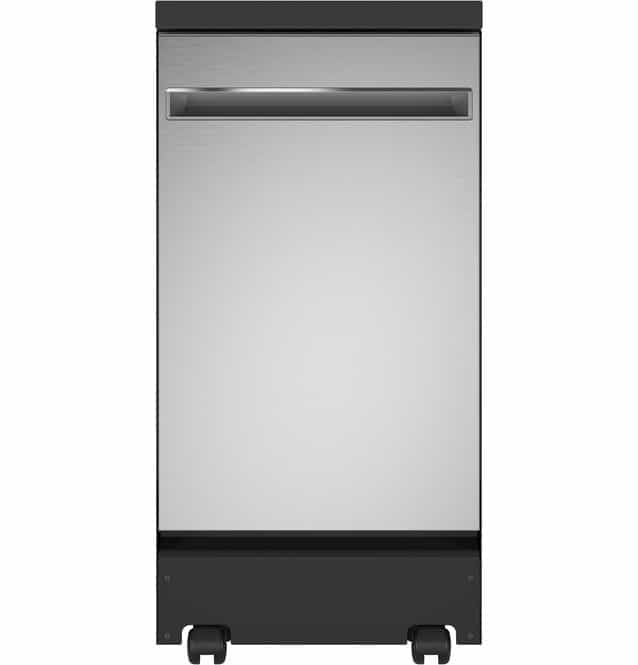 GE® 18 Stainless Steel Interior Portable Dishwasher