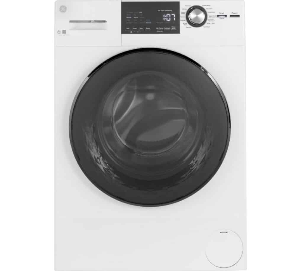 """GE 24"""" 2.4 cu. ft. Energy Star Front Load Washer with Steam"""