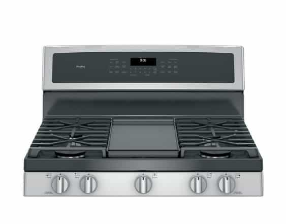 """GE 30"""" Free-Standing Gas Double Oven Convection Range"""