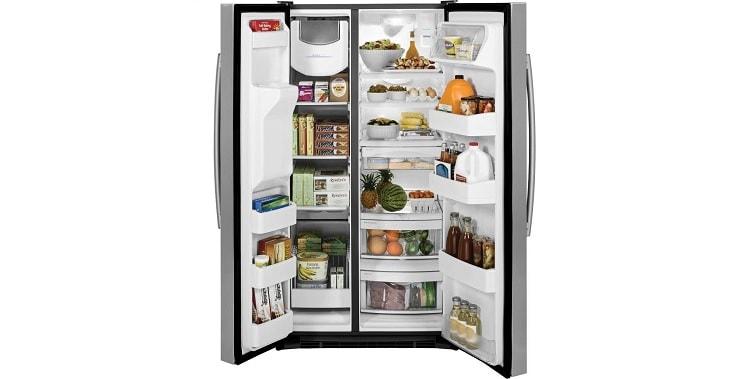 GE GSS25GSHSS Side-By-Side Refrigerator