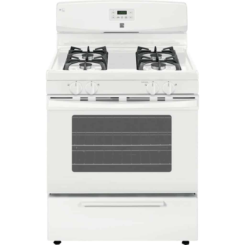 Kenmore 74412 stove white