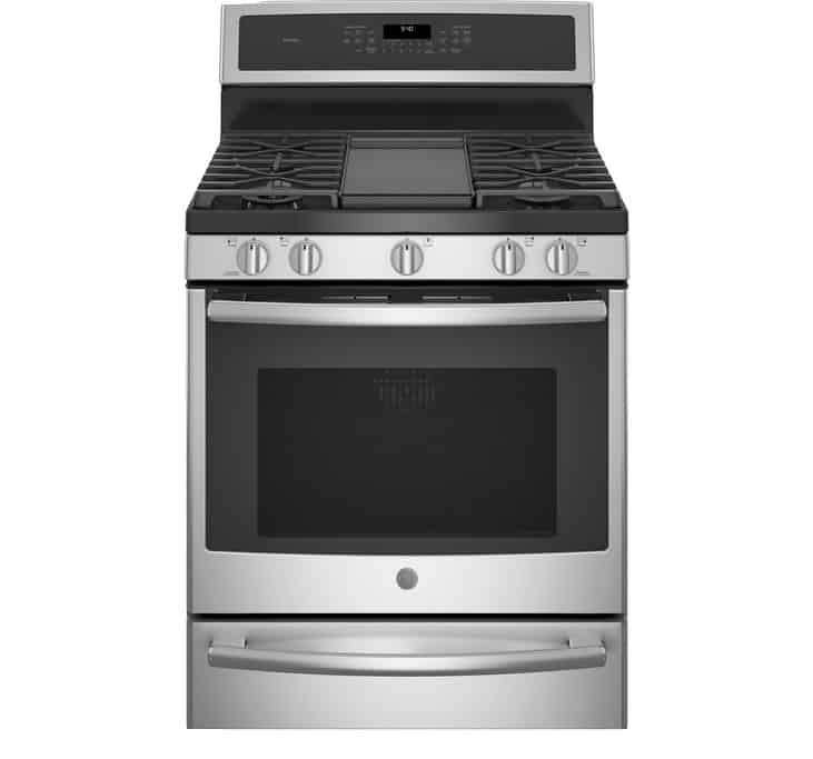 Smart Dual-Fuel Free-Standing Convection Range with Warming Drawer