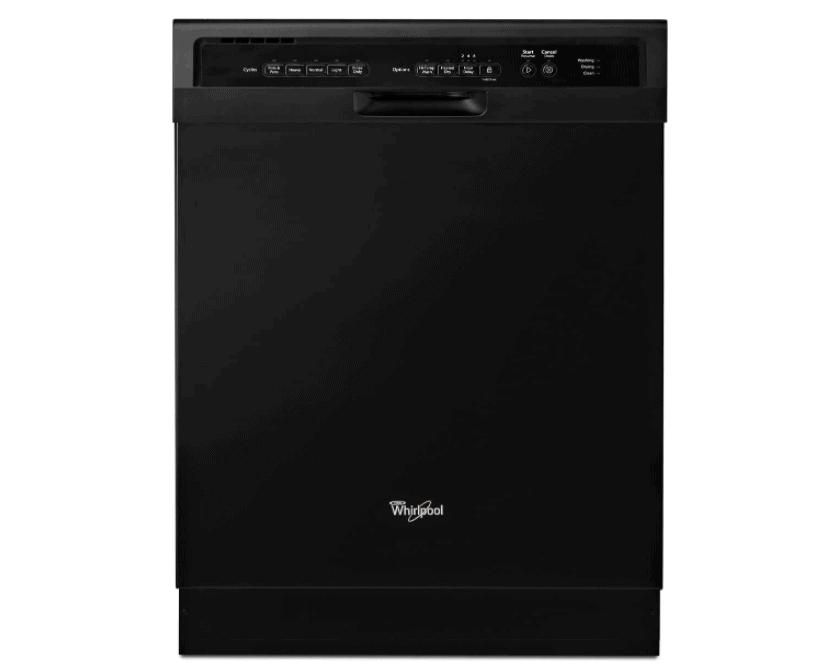 Best Budget Whirlpool 24 Inch Built-In Black Dishwasher