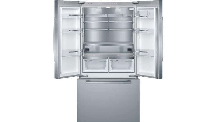 Bosch 800 Series French Door Bottom Mount Refrigerator B36CT80SNS