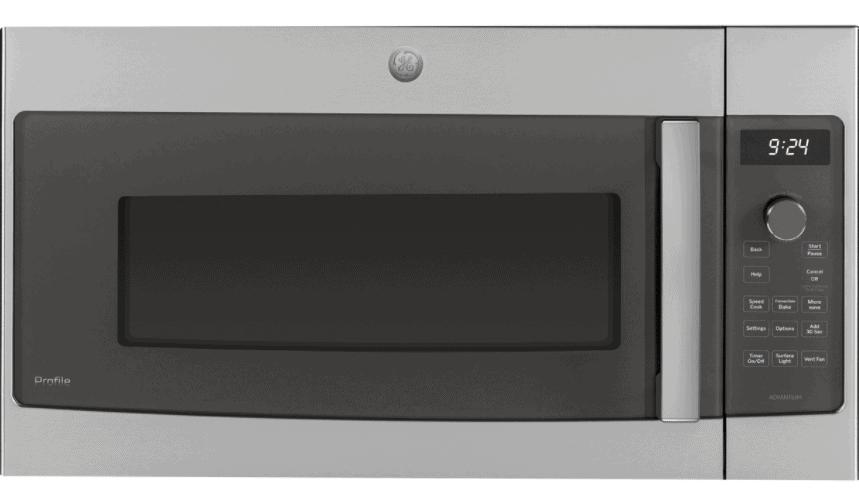 GE Advantium PSA9240SFSS Stainless Steel Over-The-Range Microwave