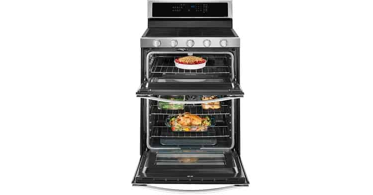 Whirlpool WGG745S0FS 6.0 Cu. Ft. Stainless Gas Double Oven