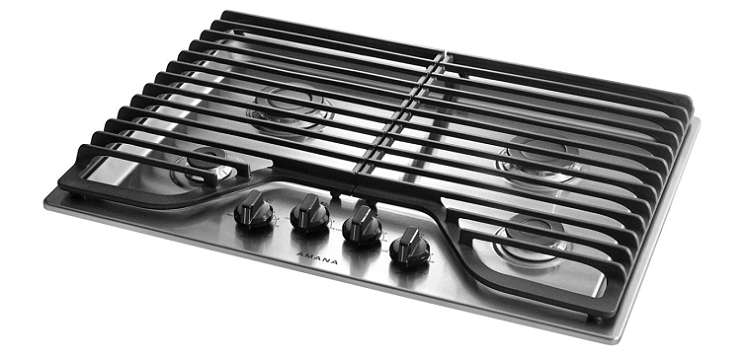Amana Model AGC6540KFS Gas Cooktop with 4 Burners