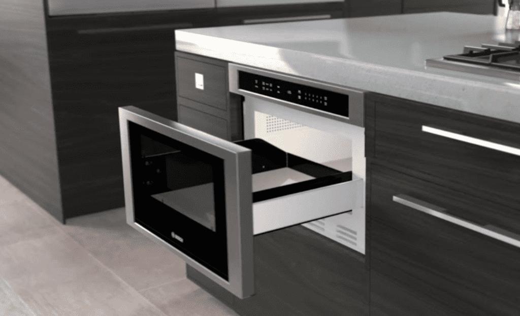 Bosch 800 Series Drawer Microwave