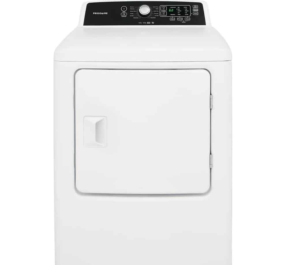 Frigidaire White Free Standing Electric Dryer