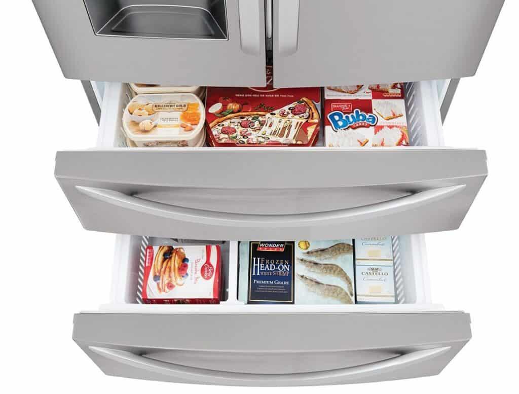 Inside Refrigirator